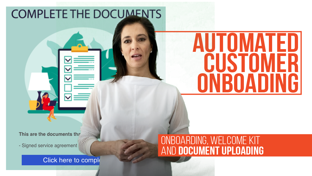Automation customer onboarding and completing customer dossier